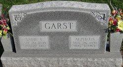 Sadie L <i>Lutz</i> Garst