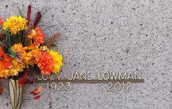 Lucy Jane Lowman