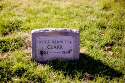 Alice Vernetta <i>Shawgo</i> Clark