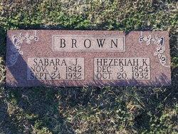 Sabara J <i>Sledge</i> Brown
