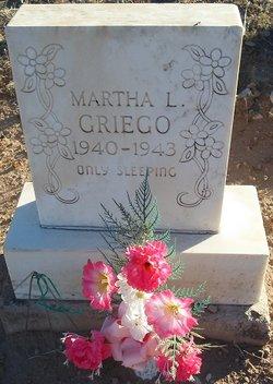 Martha L Griego