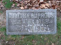 Martha <i>Caldwell</i> Burrous