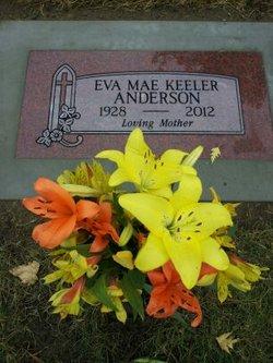 Eva Mae <i>Davis</i> Keeler Anderson