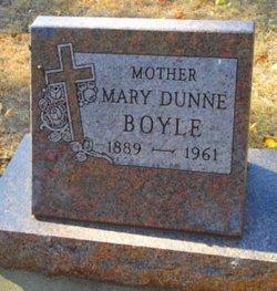 Mary E. <i>Dunne</i> Boyle
