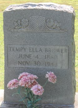 Tempie Ella <i>Garner</i> Brower