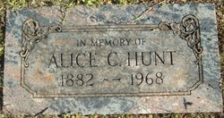 Alice C Hunt