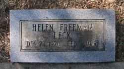 Helen Virginia <i>Freeman</i> Beck
