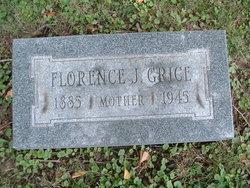 Florence Jane <i>Claar</i> Grice
