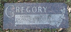 Donald S Gregory