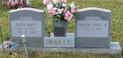 Edith <i>Rouse</i> Hayes