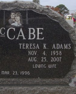 Teresa Kay <i>Adams</i> McCabe