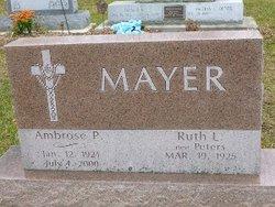 Ambrose Peter Mayer