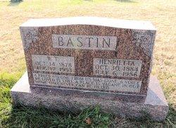 Henrietta <i>Nunn</i> Bastin