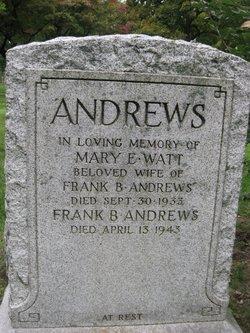 Mary Elizabeth <i>Watt</i> Andrews