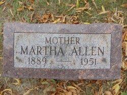 Martha <i>Krohn</i> Allen
