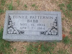 Eunice <i>Patterson</i> Babb