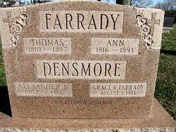 Ann <i>Adams</i> Farrady