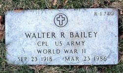 Walter R Bailey