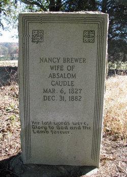 Nancy <i>Brewer</i> Caudle