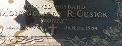 Montgomery Robert Monty Cusick
