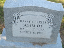 Harry Charles Schmidt