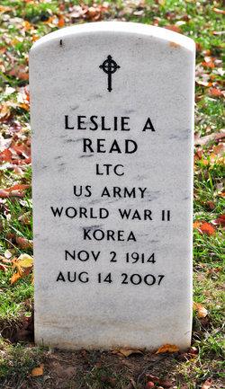 Leslie A Read