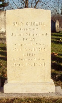 Sally <i>Caldwell</i> Stanwood
