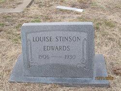 Louise <i>Stinson</i> Edwards