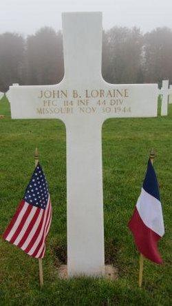 PFC John B Loraine