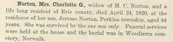 Charlotte G <i>Henderson</i> Norton