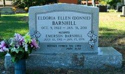 Eldoria Ellen Donnie <i>Palmer</i> Barnhill