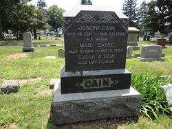 Mary <i>Sayre</i> Cain
