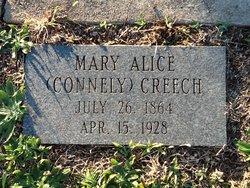 Mary Alice <i>Connely</i> Creech