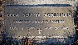 Ella Sophia Ackerman