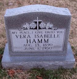Vera Isabelle <i>Driskell</i> Hamm