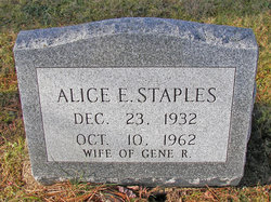 Alice E. Staples