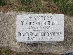 Sr M. Vincentia Boese