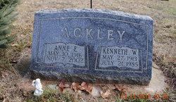 Kenneth Wilson Ackley