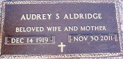 Audrey Lee <i>Singleton</i> Aldridge