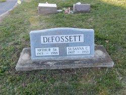 Susanna C <i>Meyer</i> DeFossett