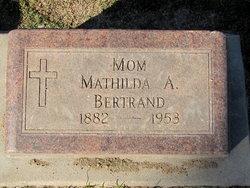Mathilda A <i>Reuter</i> Bertrand