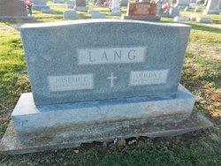 Otilda Frances Tillie <i>Meyer</i> Lang