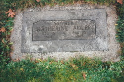 Katherine Katie <i>Manz</i> Adler