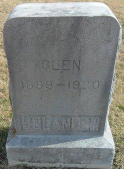 Sarony Glenn Glen Bolander