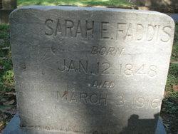 Sarah E <i>Bush</i> Faddis