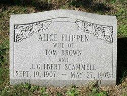 Alice <i>Flippen</i> Brown