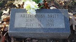 Arlie Ruby <i>Brown</i> Britt