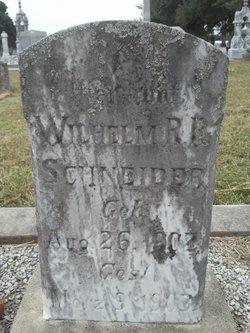 Wilhelm R R Schneider