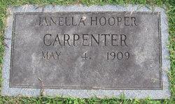 Janella <i>Hooper</i> Carpenter