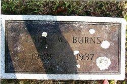 Lacy W Burns